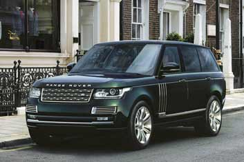Range Rover Autobiography- London heathrow chauffeurs